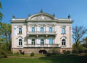 Villa Eschebach (Albertplatz Dresden) Hauptsitz der Dresdner Volksbank Raiffeisenbank